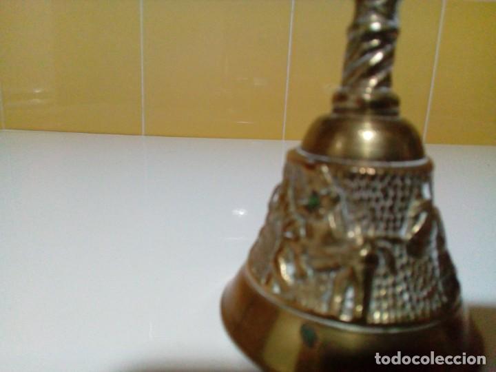 Antigüedades: CAMPANA DE BRONCE - Foto 4 - 204845001