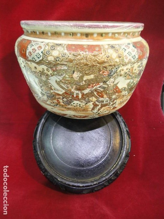 CENTRO DE PORCELANA CHINA (Antigüedades - Porcelanas y Cerámicas - China)