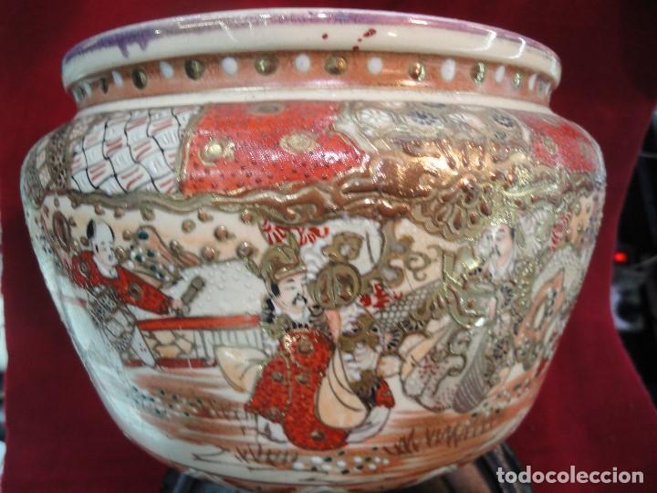 Antigüedades: CENTRO DE PORCELANA CHINA - Foto 2 - 204849942