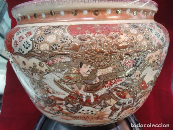 Antigüedades: CENTRO DE PORCELANA CHINA - Foto 4 - 204849942