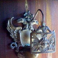 Antigüedades: APLIQUE - METAL / LATON .. Lote 204971487