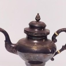 Antigüedades: JARRA EN PLATA R & W WILSON PHILADELPHIA FINALES DEL SIGLO XIX. Lote 204979476