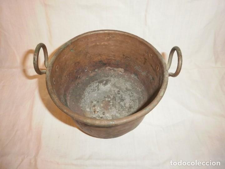 Antigüedades: PEQUEÑA CAÑDERETA DE COBRE - Foto 2 - 205047846