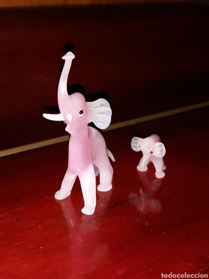 Antigüedades: Elefantes de Murano - Foto 2 - 205099097