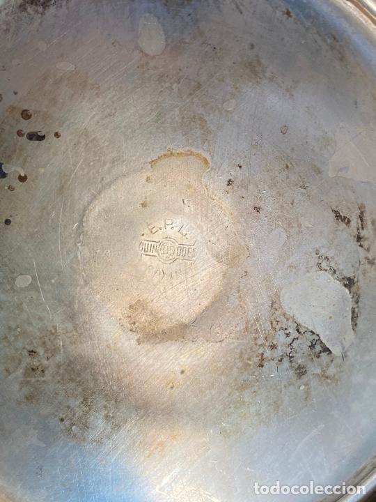 Antigüedades: LOTE DE SEIS COPAS EN ALPACA - Foto 6 - 205102383