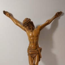 Antigüedades: ANTIGUO CRISTO EN MADERA DE BOJ. Lote 205103051