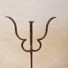 Antigüedades: CANDELABROS TRES BRAZOS. Lote 205115141