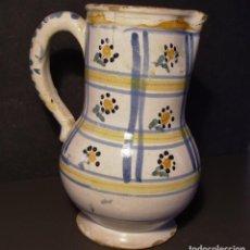 Antigüedades: JARRA CERÁMICA DE ALCORA XVIII. Lote 205132056