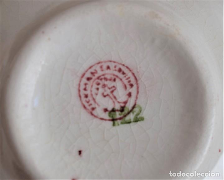 Antigüedades: JUEGO DE TÉ COMPLETO 12 SERVICIOS - Foto 6 - 205140282