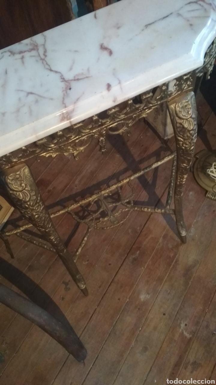 Antigüedades: Entradita bronce tipo Isabelino. - Foto 2 - 205143060