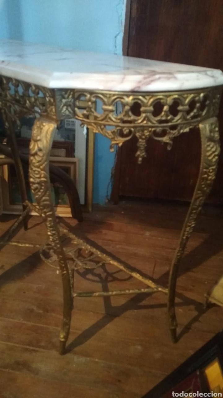 Antigüedades: Entradita bronce tipo Isabelino. - Foto 3 - 205143060