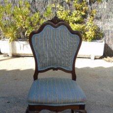 Antigüedades: ANTIGUA SILLA DE MADERA.. Lote 205177406