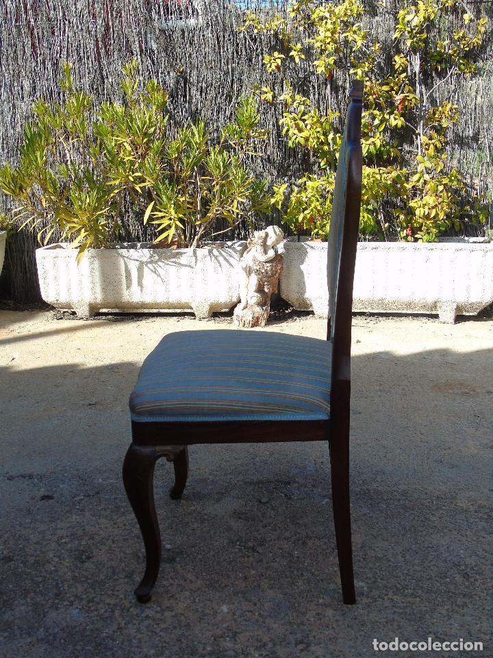 Antigüedades: ANTIGUA SILLA DE MADERA. - Foto 7 - 205177406