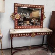 Antigüedades: CONSOLA CON ESPEJO LUIS XVI. Lote 205234517