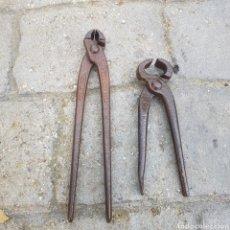 Antigüedades: LOTE DE 2 TENAZAS. Lote 205246916