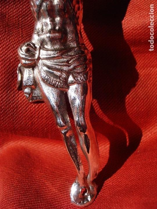Antigüedades: CRISTO DE PLATA SXIX - Foto 5 - 205247085