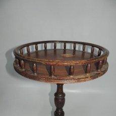 Antiquités: BONITA MESA MESITA AUXILIAR PEQUEÑA REDONDA. Lote 205252460