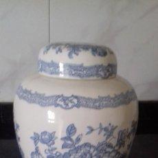 Antigüedades: TIBOT PORCELANA INGLESA. Lote 205254900
