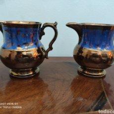Antigüedades: PAREJA DE JARRAS BRISTOL. Lote 205264945