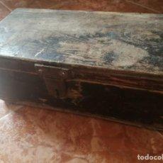 Oggetti Antichi: CAJA DE HERRAMIENTAS DE MADERA. Lote 205320723