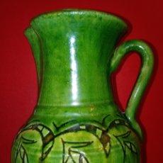 Antigüedades: JARRA DE CERAMICA ESMALTADA - GONGORA LIBEDA - UBEDA. Lote 205331392