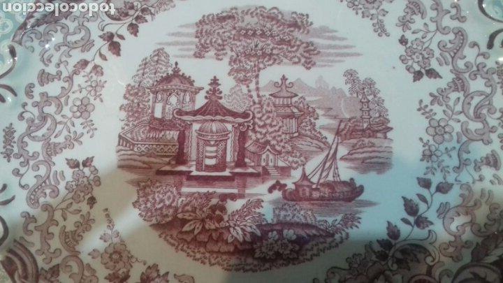 Antigüedades: Bonita fuente de la cartuja pickman - Foto 2 - 205335412