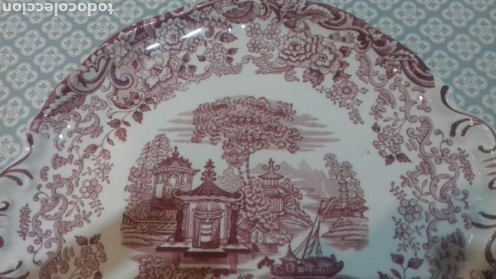 Antigüedades: Bonita fuente de la cartuja pickman - Foto 3 - 205335412