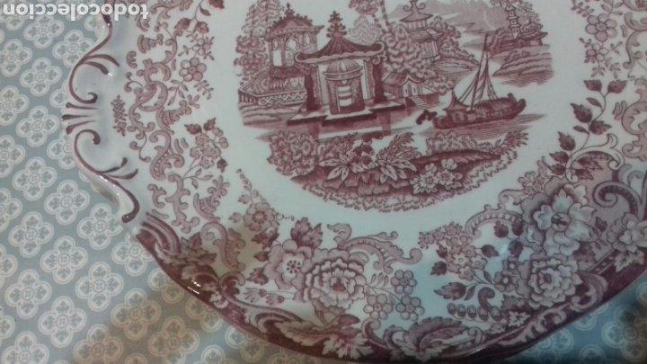 Antigüedades: Bonita fuente de la cartuja pickman - Foto 4 - 205335412
