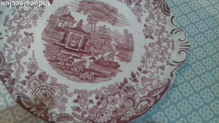 Antigüedades: Bonita fuente de la cartuja pickman - Foto 5 - 205335412