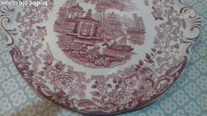 Antigüedades: Bonita fuente de la cartuja pickman - Foto 6 - 205335412