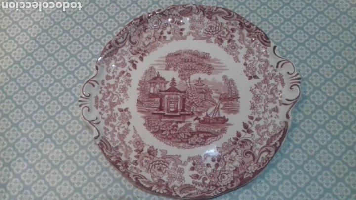 BONITA FUENTE DE LA CARTUJA PICKMAN (Antigüedades - Porcelanas y Cerámicas - La Cartuja Pickman)