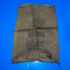Antigüedades: SACO DE CAFÉ - ZAIRE - 70 X 100 CMS. Lote 205343746