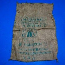 Antigüedades: SACO DE CAFÉ - NICARAGUA - 72 X 102 CMS. Lote 205344023