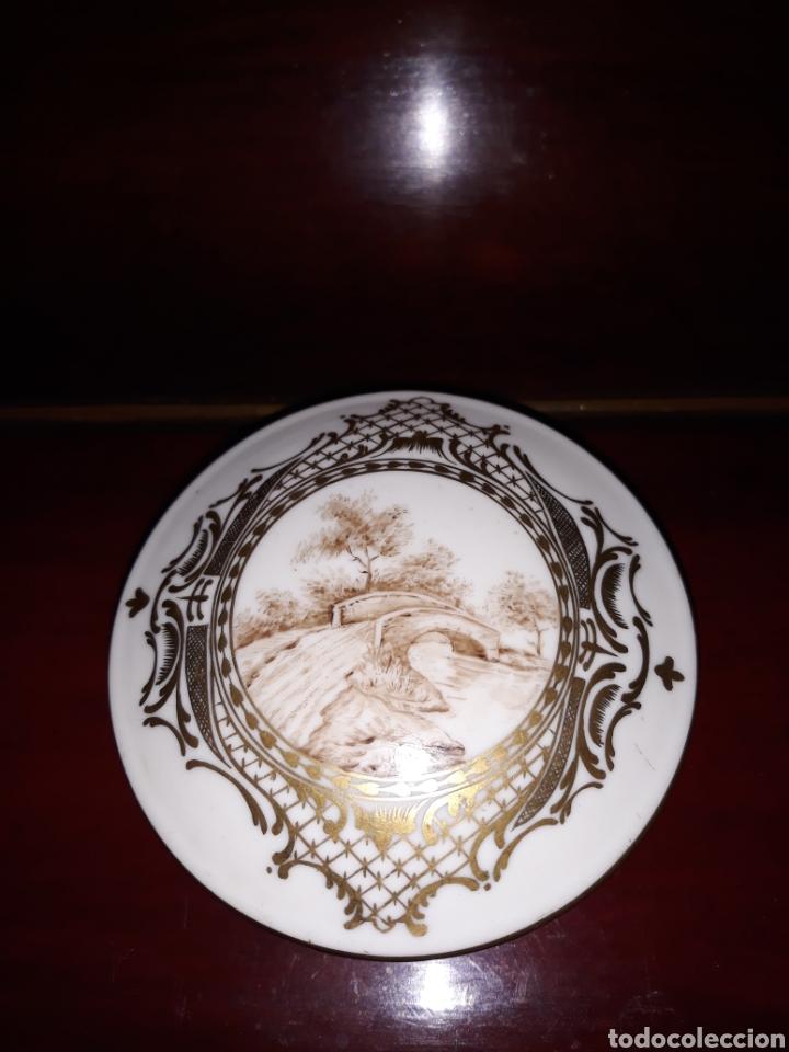 CAJA DE PORCELANA (Antigüedades - Porcelana y Cerámica - Francesa - Limoges)