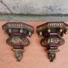 Antigüedades: DOS MENSULAS 26X23. Lote 205390790