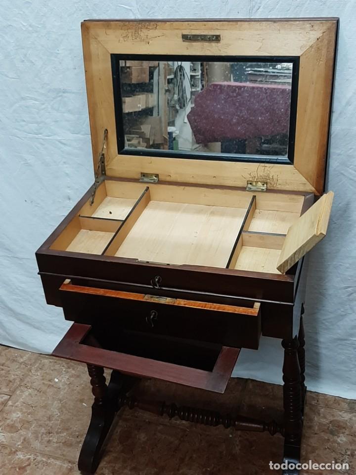 COSTURERO ISABELINO...XIX (Antigüedades - Muebles Antiguos - Auxiliares Antiguos)