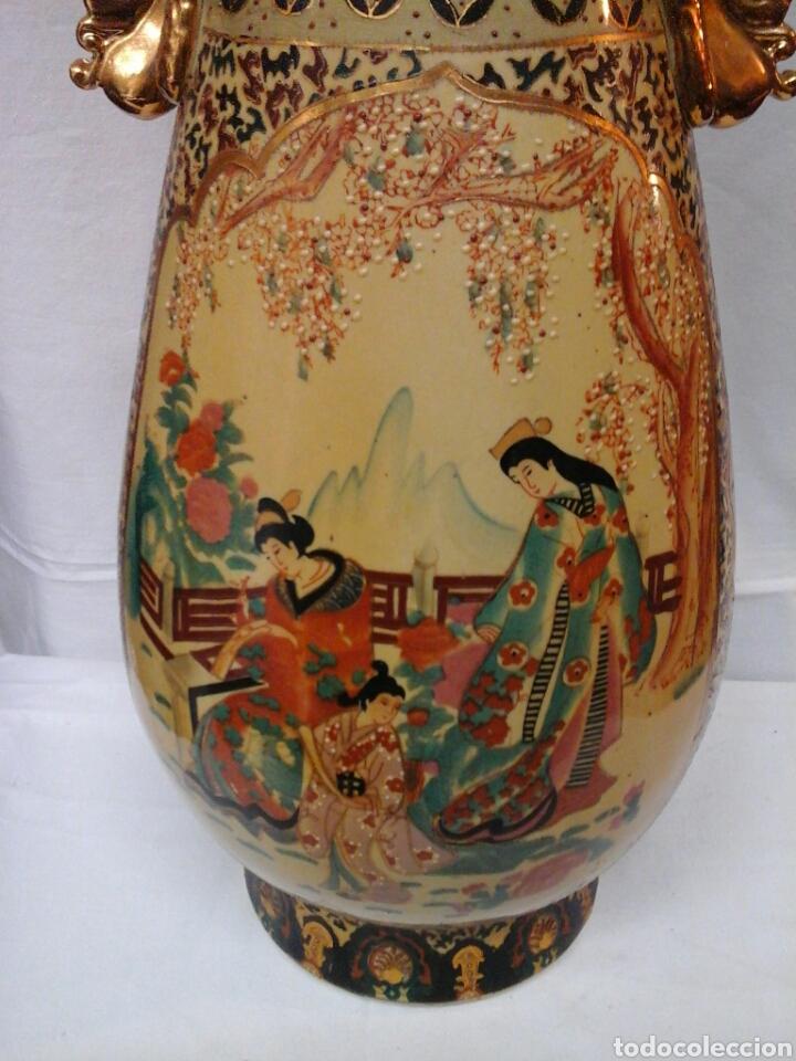 Antigüedades: Jarron porcelana tipo Satsuma - Foto 2 - 205397488