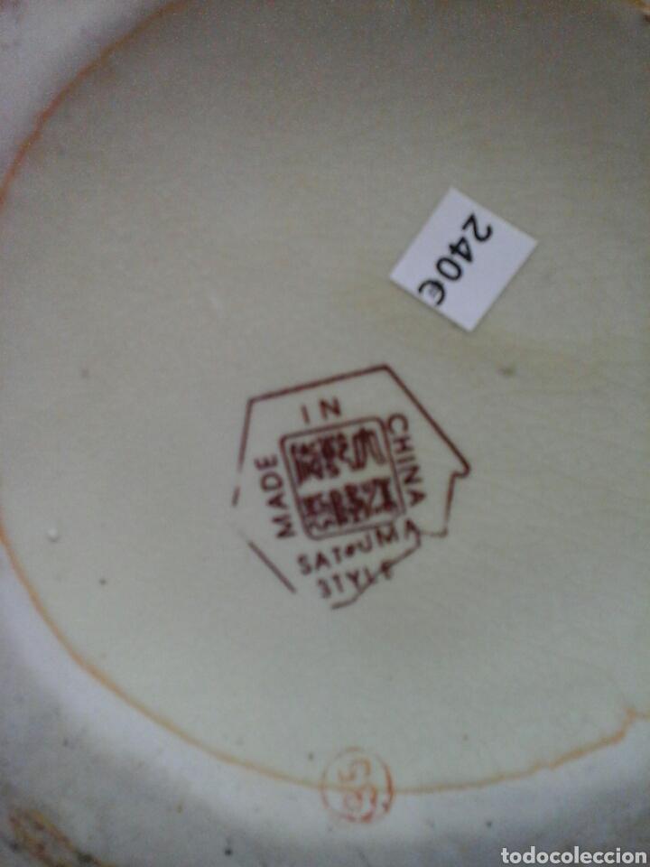 Antigüedades: Jarron porcelana tipo Satsuma - Foto 4 - 205397488