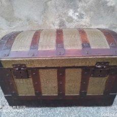 Antigüedades: BAÚL ANTIGUO DEL SIGLO XIX. Lote 205438186