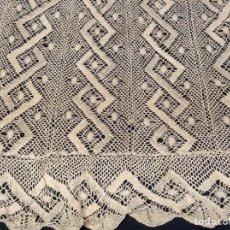 Antigüedades: PRECIOSO CUBRECAMA DE GANCHILLO. Lote 205448117