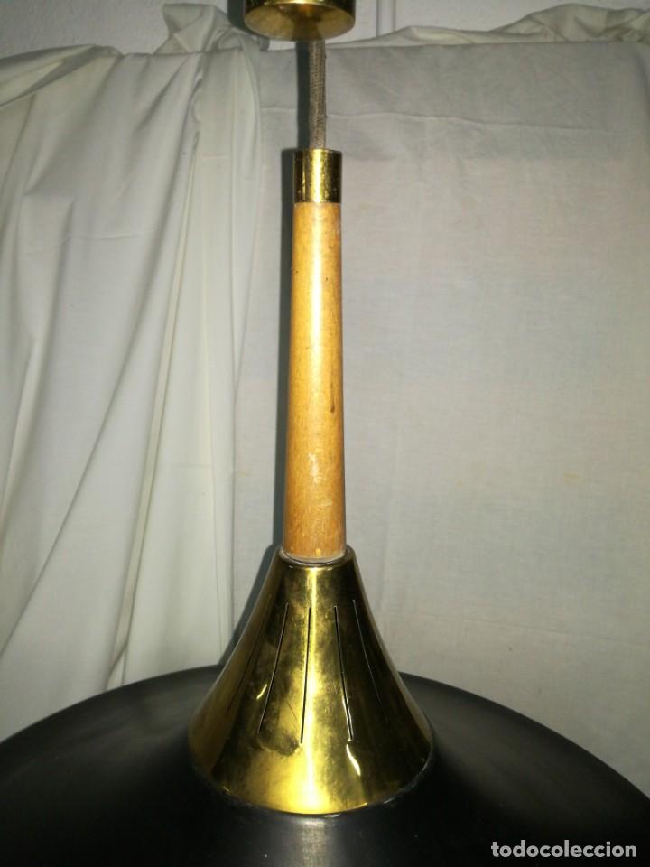 Antigüedades: Gran lámpara sube baja contrapeso vintage - Foto 4 - 205452452