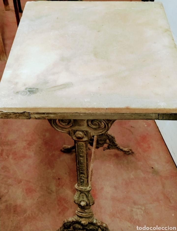 Antigüedades: Mesa velador hierro fundido siglo XIX. - Foto 3 - 205458470