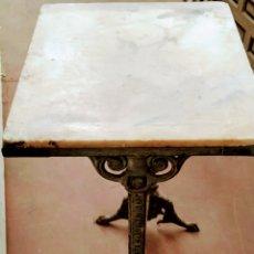 Antigüedades: MESA VELADOR HIERRO FUNDIDO SIGLO XIX.. Lote 205458470