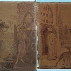 Antigüedades: DOS ANTIGUOS TAPICES, CON MOTIVOS ORIENTALES, SIGLO XIX, BUEN ESTADO DE CONSERVACIÓN.. Lote 205464752
