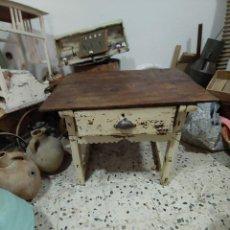 Antigüedades: MESA TOCINERA. Lote 205471185