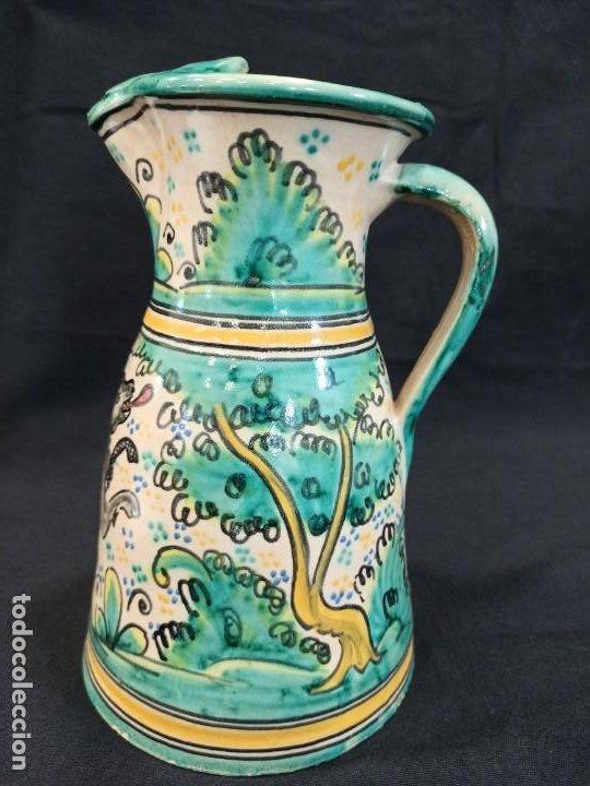 Antigüedades: Jarra de cerámica. Puente del Arzobispo. C10 - Foto 2 - 205512235