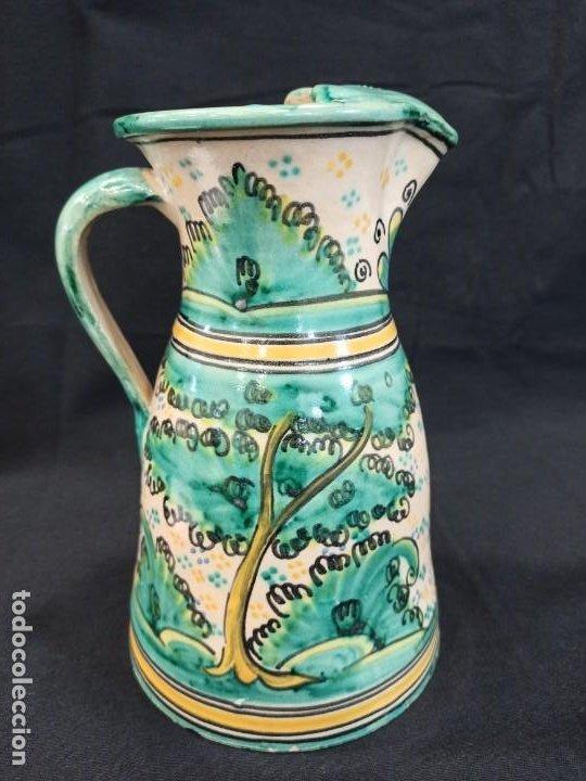 Antigüedades: Jarra de cerámica. Puente del Arzobispo. C10 - Foto 3 - 205512235