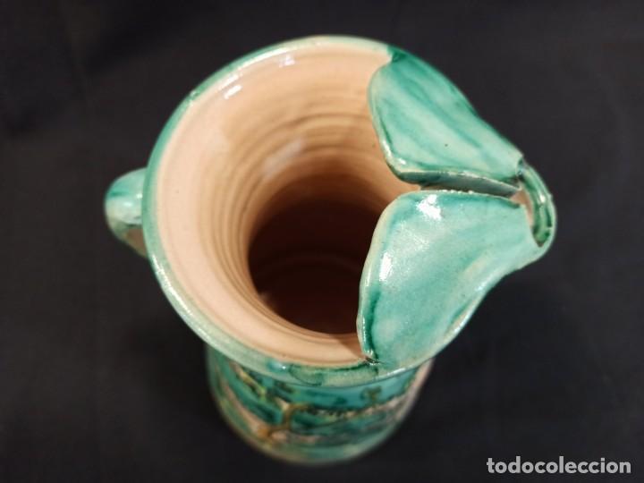 Antigüedades: Jarra de cerámica. Puente del Arzobispo. C10 - Foto 4 - 205512235