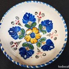 Antigüedades: CUENCO DE CERÁMICA TIPO TALAVERA. C9. Lote 205516176