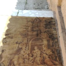 Antigüedades: TAPIZ ANTIGUO 100 X 160. Lote 205531772